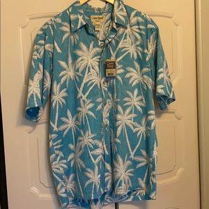 NWT Hawaiian shirt Cooke Street Honolulu